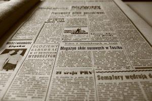 En gammel avis